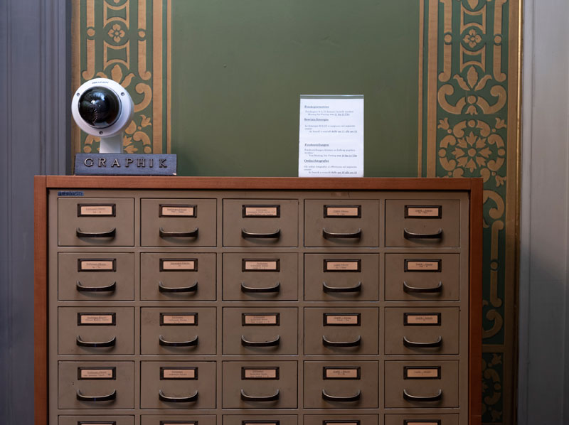 Armin Linke, Photo Library, The Kunsthistorisches Institut in Florenz, Max Planck-Institute, Florence Italy, 2018
